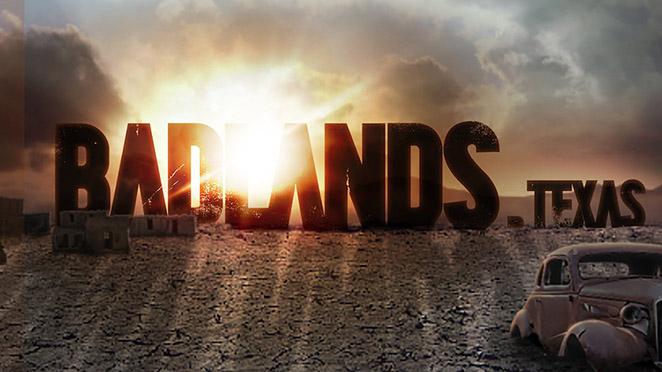 Badlands-Texas